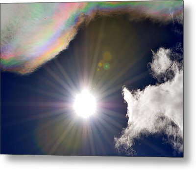 Sunbeams Metal Print by Heather L Wright