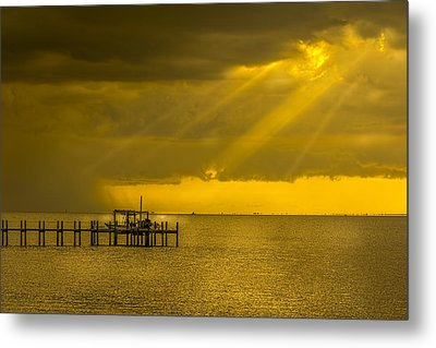 Sunbeams Of Hope Metal Print