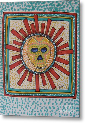 Sunburst Metal Print by Marcia Weller-Wenbert
