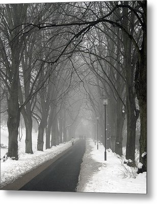 Sunday Afternoon Winter Metal Print