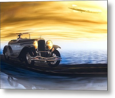 Sunday Drive Metal Print by Bob Orsillo