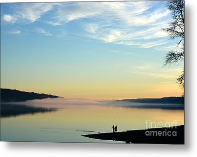 Sunday Evening Solitude Metal Print