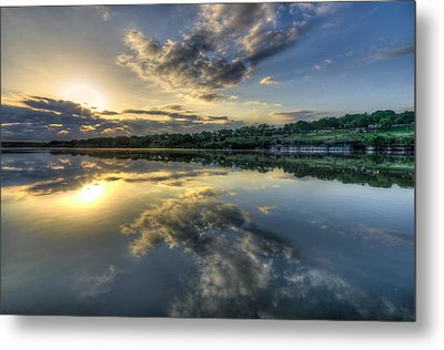 Sunday Sunrise Metal Print by Jeffrey W Spencer