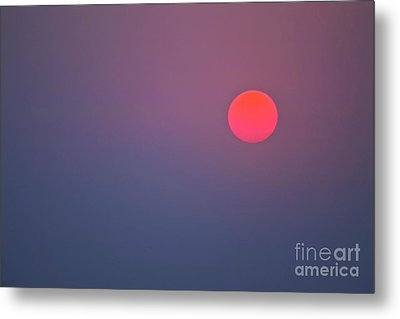 Sundown Metal Print by Heiko Koehrer-Wagner