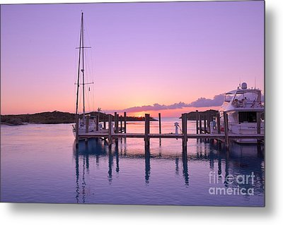 Metal Print featuring the photograph Sundown Serenity by Jola Martysz
