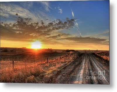 Sundown Metal Print by Thomas Danilovich