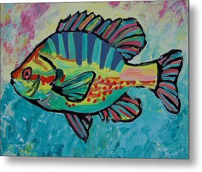Sunfish Metal Print by Krista Ouellette