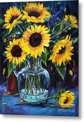 Sunflower Bouquet  Metal Print