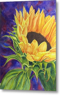 Sunflower II Metal Print