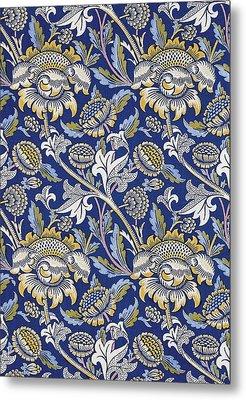 Sunflowers Design Metal Print