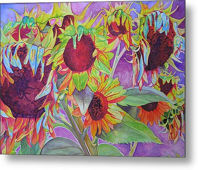 Sunflowers Metal Print by Joshua Morton