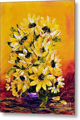 Sunflowers  No.3 Metal Print