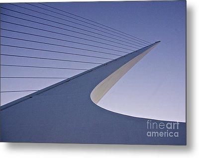 Sundial Bridge Metal Print by Sean Griffin