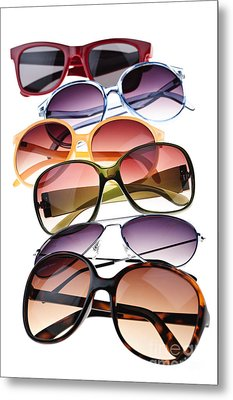 Sunglasses Metal Print by Elena Elisseeva