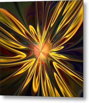 Sunglow Metal Print by Anastasiya Malakhova