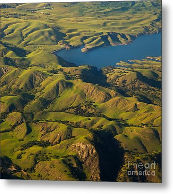 Sunol Wilderness From Above Metal Print by Matt Tilghman