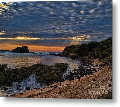 Metal Print featuring the photograph Sunrays by Trena Mara