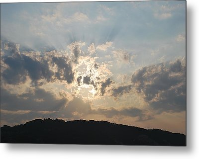 Metal Print featuring the photograph Sunrise 1 by George Katechis
