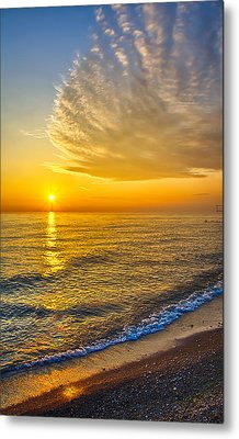 Sunrise 10-30-13 Metal Print by Michael  Bennett