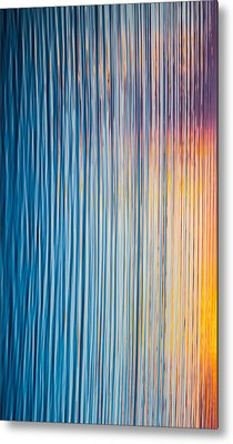 Sunrise Abstract #3 Metal Print by Parker Cunningham