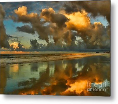 Sunrise At Myrtle Beach II Metal Print by Jeff Breiman