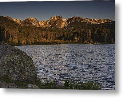 Sunrise At Spraque Lake Metal Print by Tom Wilbert