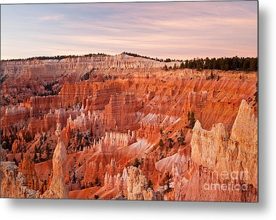 Sunrise At Sunset Point Bryce Canyon National Park Metal Print