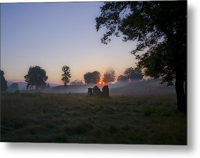 Sunrise At Whitemarsh Metal Print by Bill Cannon
