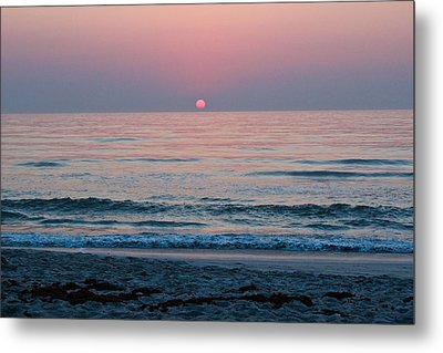 Sunrise Blush Metal Print by Julie Andel