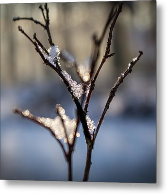 Sunrise Crystals Metal Print by Glenn DiPaola