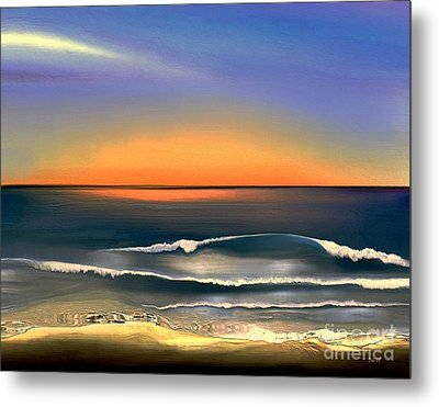 Sunrise Metal Print by Dale   Ford