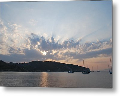 Metal Print featuring the photograph Sunrise by George Katechis