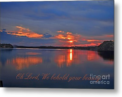 Sunrise Metal Print by Geraldine DeBoer