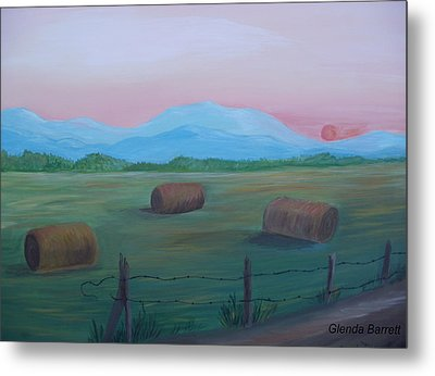 Sunrise Metal Print by Glenda Barrett