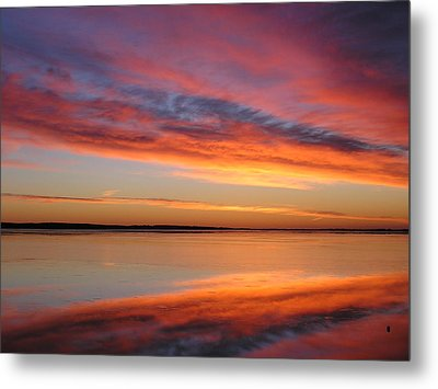 sunrise Glow Metal Print