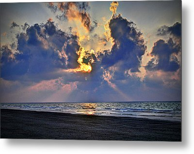 Sunrise... Hilton Head Island Metal Print by Deborah Klubertanz