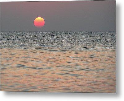 Sunrise In Crete Metal Print by Sergey Simanovsky