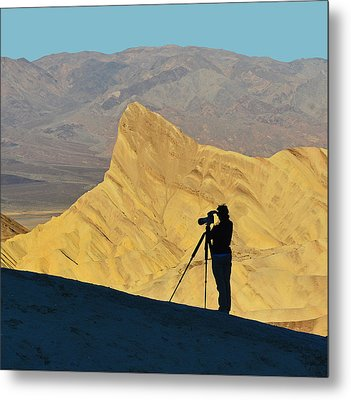 Metal Print featuring the photograph The Photographer's Art by Dana Sohr