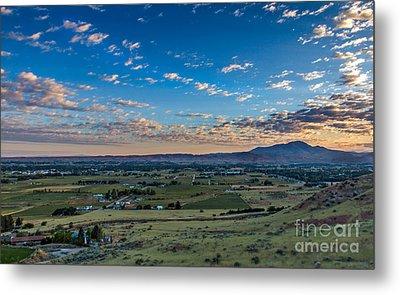 Sunrise In Emmett Valley Metal Print