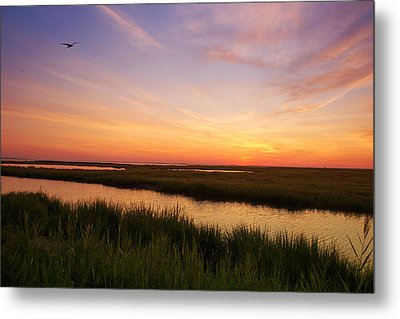 Sunrise In Jersey 4 Metal Print