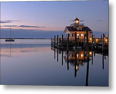 Sunrise In Manteo Metal Print