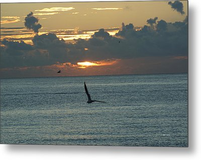 Metal Print featuring the photograph Sunrise In The Florida Riviera by Rafael Salazar