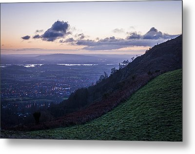 Sunrise In The Severn Valley Metal Print