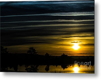 Metal Print featuring the photograph Sunrise In Virginia by Angela DeFrias