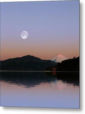 Sunrise Japan  Metal Print by John Swartz