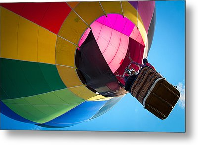 Sunrise Launch Metal Print