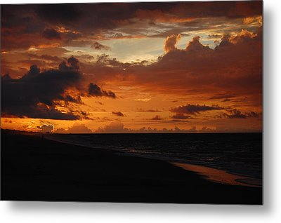 Metal Print featuring the photograph Sunrise  by Mim White
