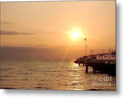 Sunrise Ocean Metal Print by Michal Bednarek