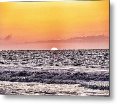 Sunrise Of The Mind Metal Print by Patricia Greer