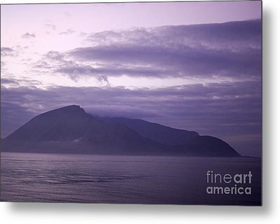 Sunrise On A Volcanic Island Metal Print by Sami Sarkis